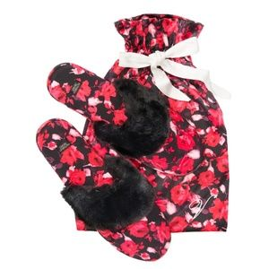 NWT Victoria's Secret Signature Satin Slippers
